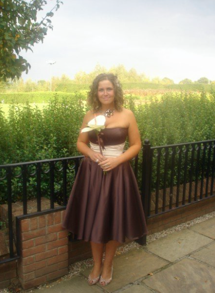 Bridesmaid dress by the dressmaker by kim cannon studio essex