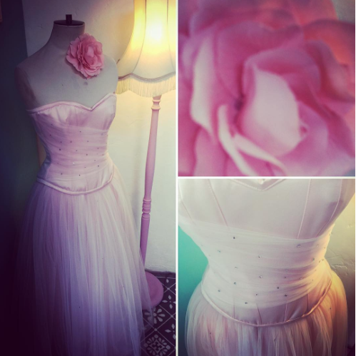 A Prom dress handmade by The Dressmaker by Kim Cannon Studio in Essex