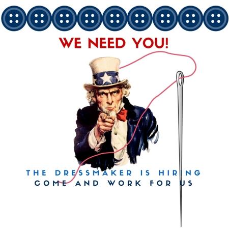 The Dressmaker job ad