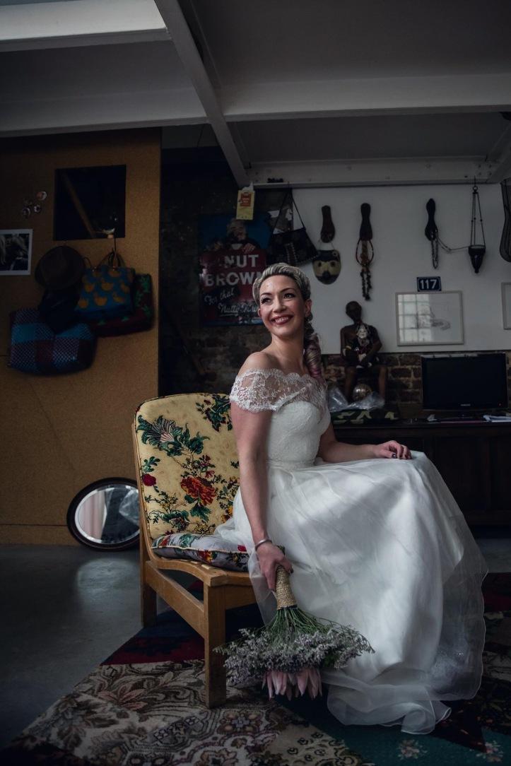 The Dressmaker bride