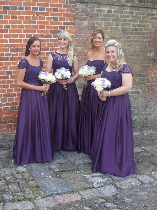 Beautiful bridesmaids by Kim Cannon Studio