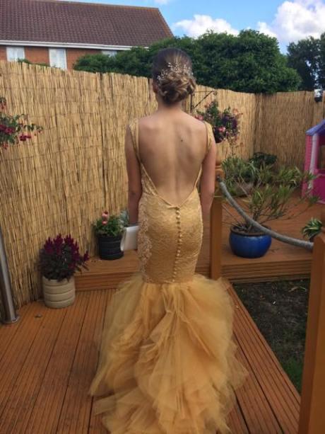 Handmade prom dress Essex