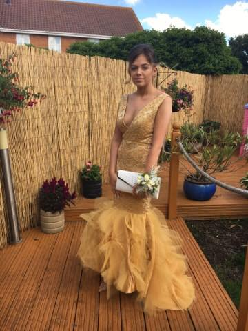 Prom dress by The Dressmaker by Kim Cannon Studio Leigh on sea