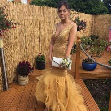 Prom dress by The Dressmaker Leigh on sea