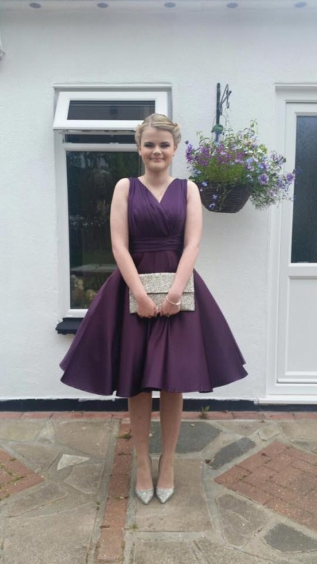 Custom made prom dress Essex
